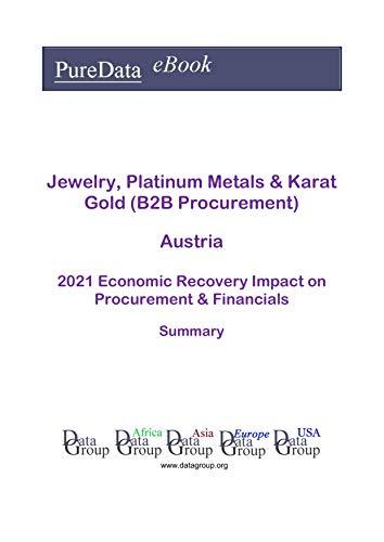 Jewelry, Platinum Metals & Karat Gold (B2B Procurement) Austria Summary: 2021 Economic Recovery Impact on Revenues & Financials (English Edition)