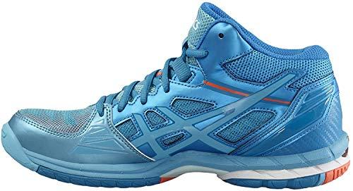 Scarpe volley donna, modello Asics Gel Volley Elite 3 MT, art. B551N 3901, colore celeste.