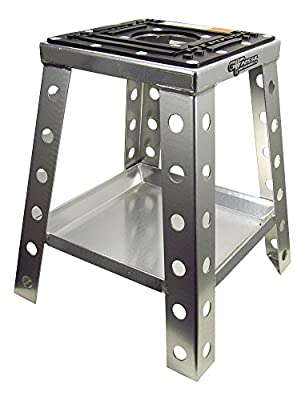 Pit Posse Off Road Universal Motorcycle Stand Fits Motocross Dirt Bike, Mini Bike, Mx Honda Kawasaki Suzuki Yamaha Ktm – Includes Tool Tray – Sturdy Anti Sink – Rust Resistant - Motorcycle Acce
