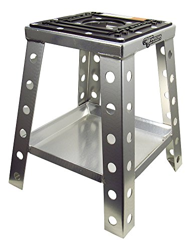 Pit Posse Off Road Universal Motorcycle Stand Fits Motocross Dirt Bike, Mini Bike, Mx Honda Kawasaki Suzuki Yamaha Ktm – Includes Tool Tray – Sturdy Anti Sink – Rust Resistant - Motorcycle Accessories