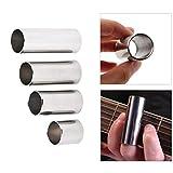 FXMJ Guitar Slides Metal Guitar Slides Accesorios de Guitarra para Guitarra acústica y Guitarra eléctrica