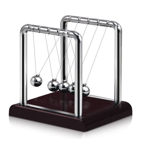 TOOGOO(R) LE Newton's Cradle, Metal Balance Ball