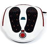 Masajeador De Pies, Estimulador De Masaje Portátil Vibración Aplicar Caliente Más Puntos De Acupuntura De Calor para Promover La Circulación Sanguínea (34.5 * 31 * 13Cm)