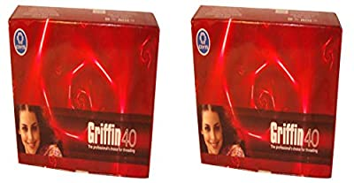 1 Box of 15 Griffin 40 TKT Eyebrow Threads Threading Eyebrows & Face Coats Brand by