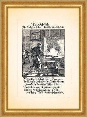 Der Schmid Hufschmied Yunque Christoph Weigel Berufe 152 - O