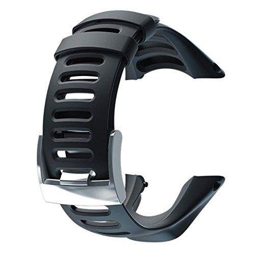 SUUNTO Ss019473000 Bracelet de Montre Mixte Adulte, Noir, Taille Unique