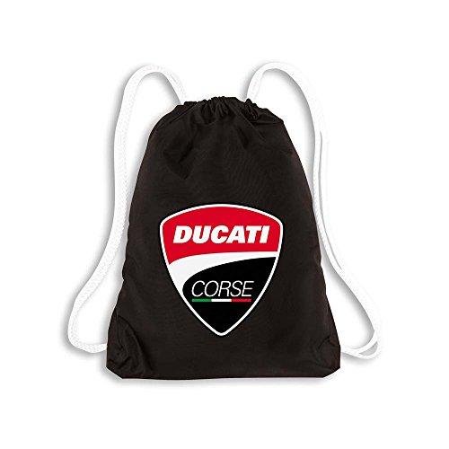 Ducati Corse Turnbeutel Rucksack schwarz