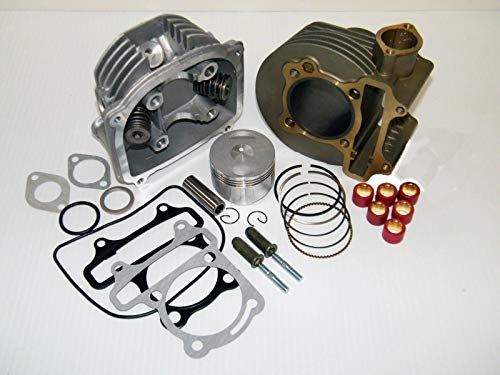 VORIPO Scooter 150cc GY6 Engine Rebuild Kit Cylinder Kit Cylinder Head Chinese Scooter