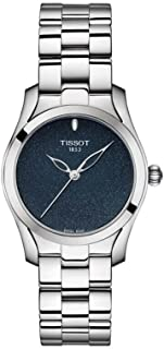 Tissot T-Wave Stainless Steel Blue Dial Ladies Watch T112.210.11.041.00