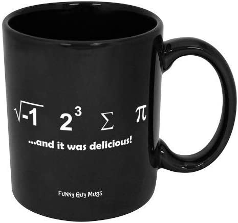 Funny Guy Mugs mart I Ate Some Pi Delicious Ceramic and It Coffee NEW before selling ☆ Was