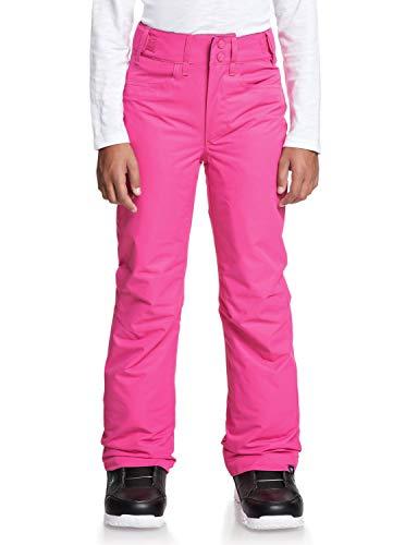 Roxy Backyard - Pantalones para Nieve para Chicas Pantalones para Nieve, Niñas, Beetroot Pink, 12/L