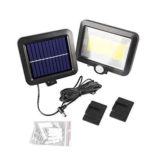 ☀ Dergo ☀ Wall Light ,COB 100 LED Solar Power Motion Sensor Outdoor Garden Light Security Flood Lamp