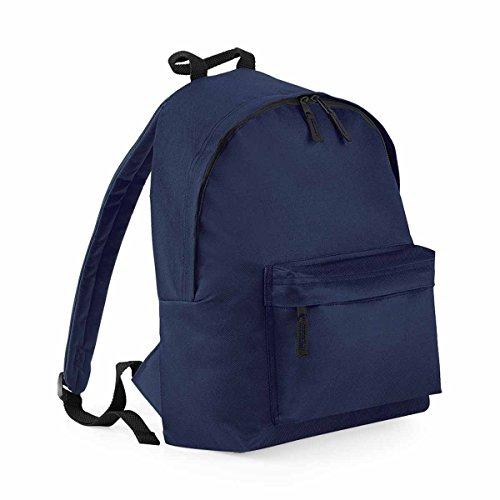 BagBase Unisex's B125JFNAV Fashion Backpack, French Navy, Medium