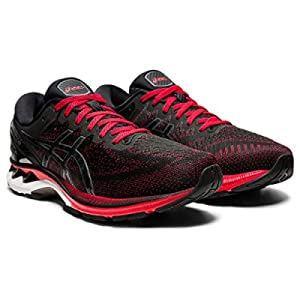 ASICS Men's Gel-Kayano 27 Running Shoes, 10, Classic RED/Black