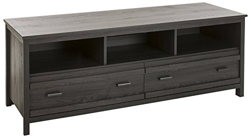 South Shore Exhibit TV Stand for TVs, Up to 60'', Gray Oak