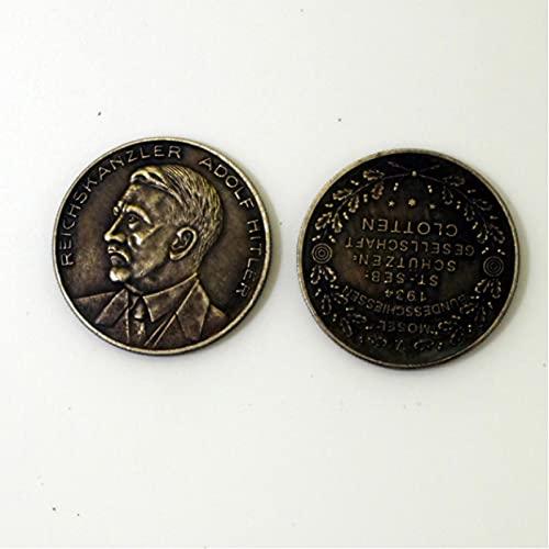 valungtung Moneda Conmemorativa 1943 Monedas para El Álbum De Medallas Alemán De La Segunda Guerra Mundial Coin Collectibles Lucky Challenge Monedas Souvenir Decoraciones Regalo De Fiesta