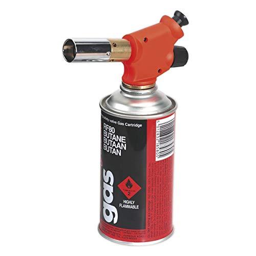 Sealey AK2955 Micro Butane Soldering/Heating Torch, 198mm x 177mm x 57mm