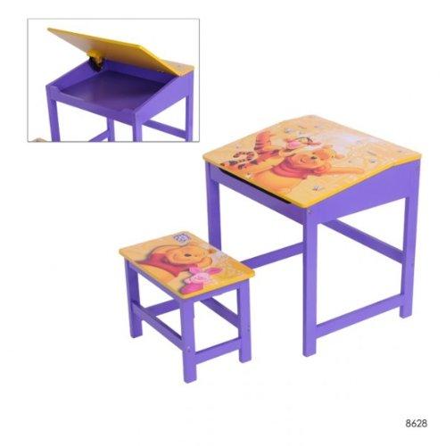 Disney Kinder Schreibtisch mit Hocker Winnie Pooh Maltisch