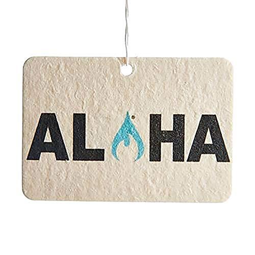 Ulu Lagoon Coconut Surf Wax Scent Mini Wave Air Freshener (Aloha)