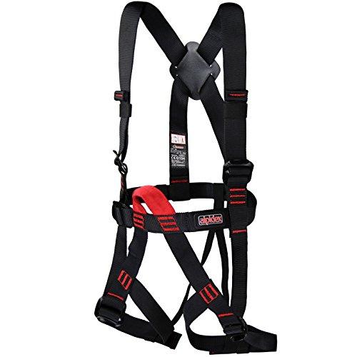 ALPIDEX Kinder Klettergurt EN 12277 Komplettgurt verstellbare Beinschlaufen
