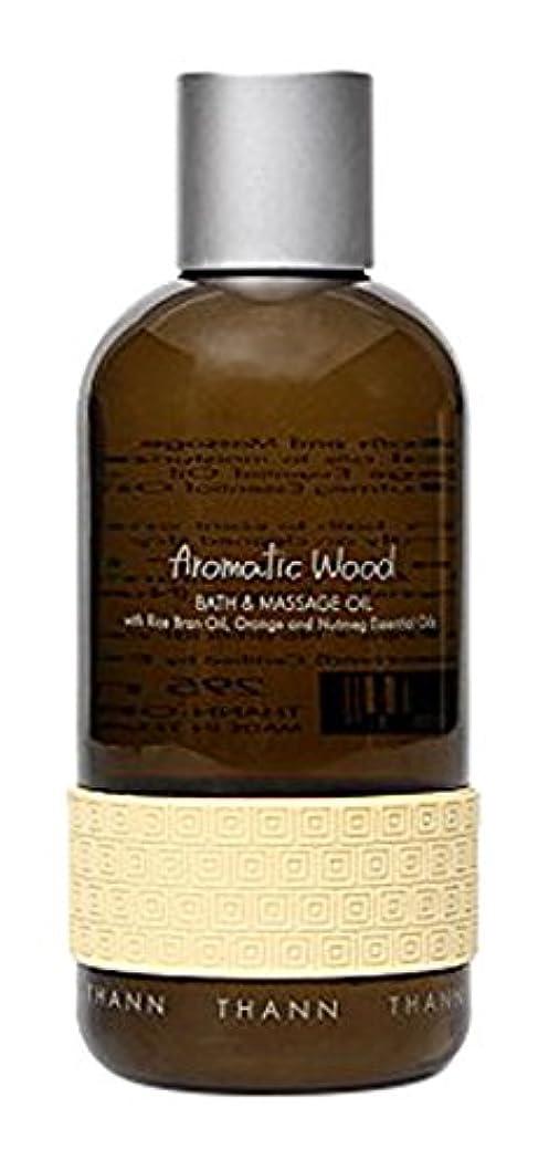 スポンサー使い込む倫理タン バス&マッサージオイルAW (Aromatic Wood)295ml