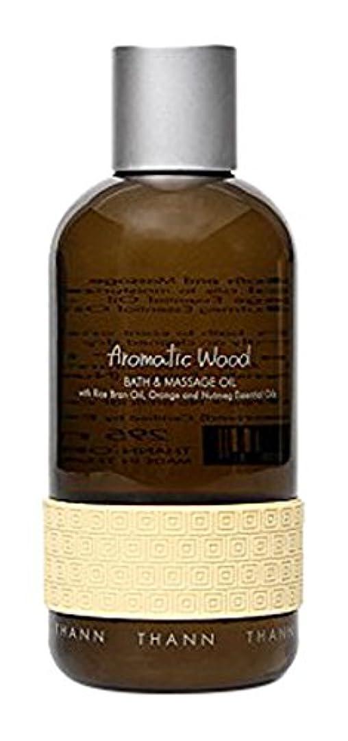 ぬるい印象的動かすタン バス&マッサージオイルAW (Aromatic Wood)295ml