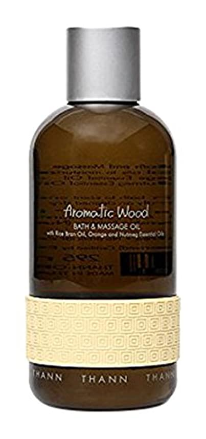 急降下チューブ太いタン バス&マッサージオイルAW (Aromatic Wood)295ml