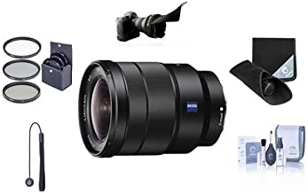 Sony Vario-Tessar TFE 16-35mm F4 ZA OSS WA Zoom Lens Bundle. Value Kit with Acc