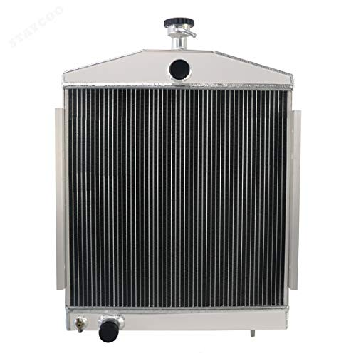 CoolingSky 2 Row Aluminum Radiator for Lincoln Welder 200/250 AMP, G10877198 H19491 249748N 249748