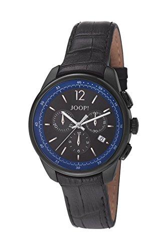 Joop! Herren-Armbanduhr Observer Chronograph Quarz Leder JP101171F06