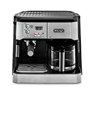Front loading Coffee maker. Input power (W): 1500 Removable 40 oz. Water reservoir for easy filling 24 hour programmable timer. Pump pressure (bar): 15 Gold Tone filter included Rated voltage/frequency (VHF): 115 V/ 60Hz. Rated voltage: 115 V