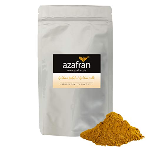 Azafran BIO Goldene Milch | Golden Milk | Kurkuma Latte Gewürzmischung 250g