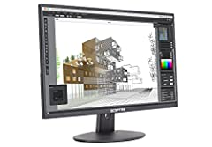 """27"""" Led 1080P monitor with high resolution 1920 x 1080 Refresh Rate up to 75Hz 2 x HDMI port (convertible to DVI) Vesa wall mount pattern Ultra slim Metallic Black Mounting Type: VESA hole pattern 100mm x 100mm"""