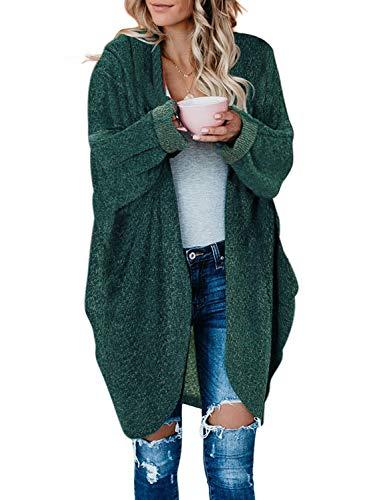 Arainlo - Bañador de una pieza con falda para mujer, estilo retro, con control de barriga, estilo retro Verde verde 46-48