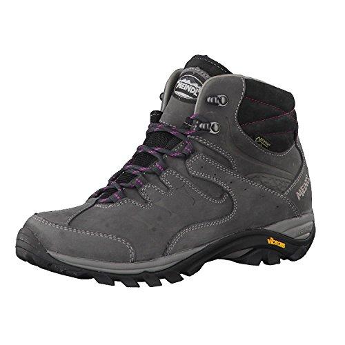 Meindl Chaussures de randonnée pour femme Caracas Lady Mid GTX 3897 - Gris - Gris mauve, 39 EU