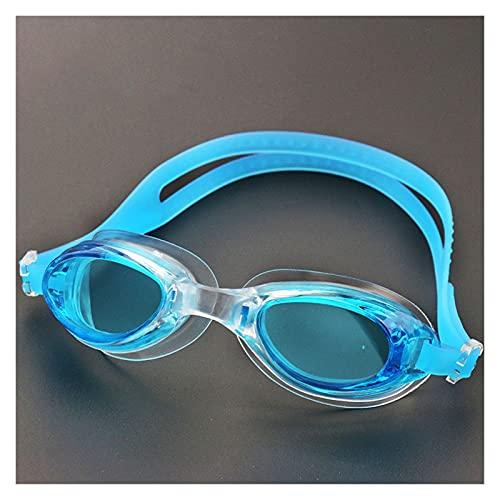 Niño Profesional Anti Niebla De Niebla Gafas Eyewear Lente Color Buceo Gafas De Baño (Color : Sky Blue)