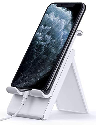 Lomicall 折り畳み式 スマホ スタンド ホルダー 角度調整 可能, スマートフォン 携帯 置き 台 卓上, プラス...