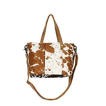 Myra Bag Aptitutde Cowhide & Leather Shoulder Bag S-1264