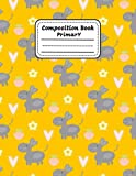 Primary Composition Notebook: Donkey Dashed Midline And Picture Space School Exercise Book for K-2 | Boys and Girls | 120 Pages | ... for K-2 (Draw and Write Journal for Kids))