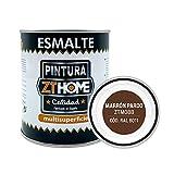 Pintura color Marron Pardo Interior / Exterior / Multisuperfie para azulejos baño cocina , madera, puertas, metal, radiadores, muebles, ceramica / Esmalte sintentico en 375 ml / RAL 8011