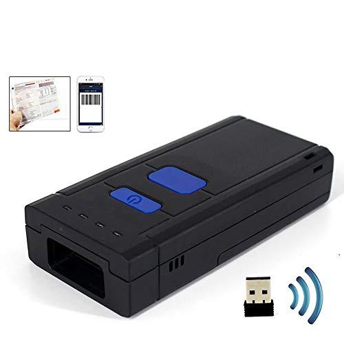 Drahtloser Bluetooth Mini 1D Laser-Barcode-Scanner USB-bewegliche kompatibel mit Bluetooth-Funktion 2,4 GHz Wireless-LAN-Verbindung Barcode Reader Scanner