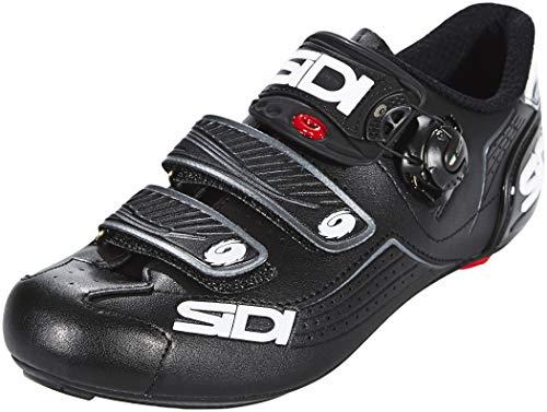 SIDI Scarpe Alba 2, Scape Ciclismo Uomo, Nero Nero, 45 EU