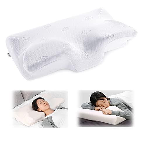 MARNUR Contour Memory Foam Pillow Orthopedic Cervical Pillows