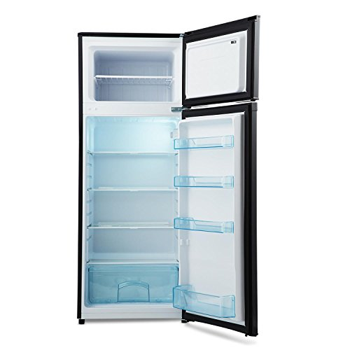 KLARSTEIN Height Cool Black - Nevera con congelador, refrigerador ...