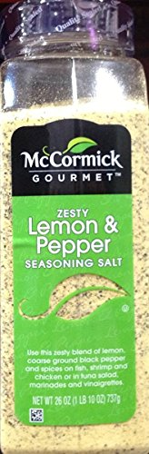 McCormick Zesty Lemon & Pepper Seasoning Salt