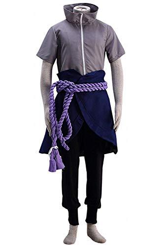 Naruto Shinobi World War Susanoo Uchiha Sasuke Outfit Cosplay Kostüm Kinder XXXL