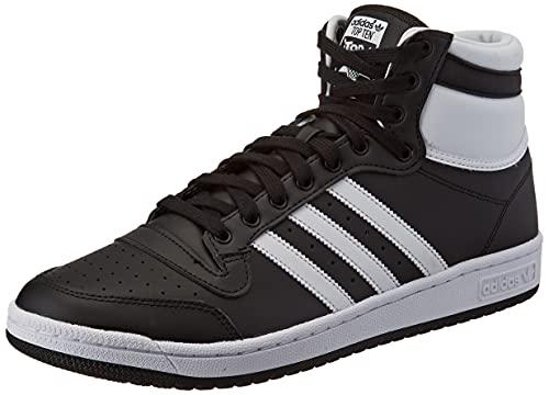 adidas Top Ten, Sneaker Homme, Core Black/Cloud White/Chalk White, 41 1/3 EU
