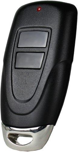 Skylink MK-318-2 2-Button Keychain Remote,Black