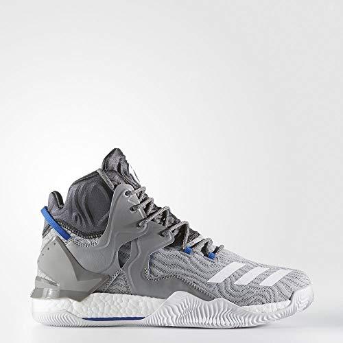 adidas D Rose 7 - Zapatillas de Baloncesto para Hombre, Gris - (GRPUCH/FTWBLA/Grpudg) 53 1/3