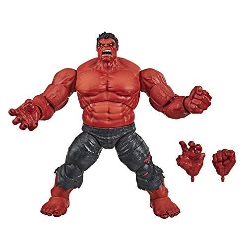 Hasbro Marvel Legends Series Avengers 15 cm große exklusive Hulk Action-Figur, Premium Design, 2 Accessoires, ab 4 Jahren